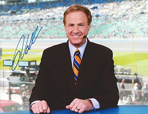 AUTOGRAPHED Rusty Wallace #2 Former Miller Lite Driver ESPN NASCAR BROADCASTER (Television Announcer) Post-Retirement Signed Collectible Picture NASCAR 9X11 Inch Glossy Photo with COA