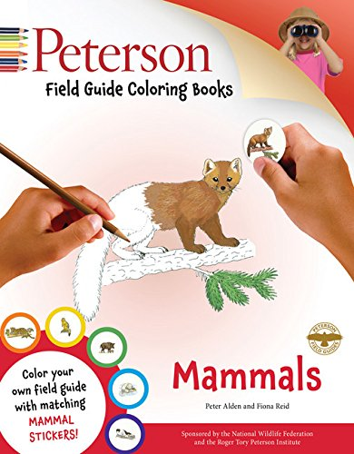 Read Online Peterson Field Guide Coloring Books: Mammals (Peterson Field Guide Color-In Books) PDF