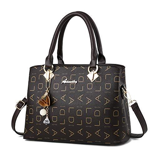 COCIFER Women Top Handle Satchel Handbags Shoulder Bag Tote Purses Messenger Bags ()