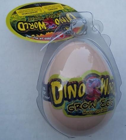 Amazon.com: Dino huevos de crecimiento de mundo – Huevos de ...