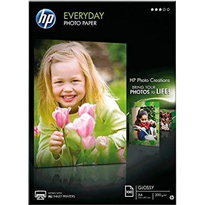 HP Papier photo Everyday A4200g/m² VE = 100feuilles Glossy