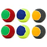 Youngever 6 Pack Durable Dog Squeaky Balls, Dog Toys, Puppy Toys for Small Medium and Large Dogs
