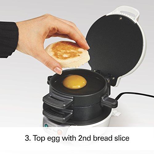 Proctor Silex 25479 Breakfast Sandwich Maker, White by Proctor Silex (Image #2)