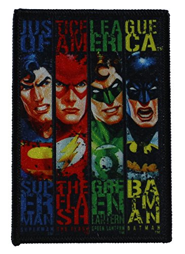 Application DC Comics Originals Justice League Banners Patch (Warcraft Banner World Of)