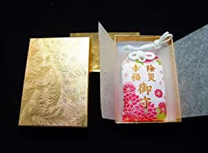 JAPANESE OMAMORI Charm Good luck For Talisman Protect you from Japan Shrine Pink Size : 7.5 x 4.5 cm (3.0 x 1.8 inch)