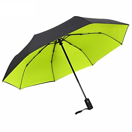 DIDIDD Doble capa gruesa automática paraguas doble plegable hombre de negocios paraguas doble uso automático paraguas