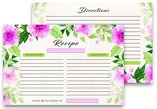 recipe cards covers - 5