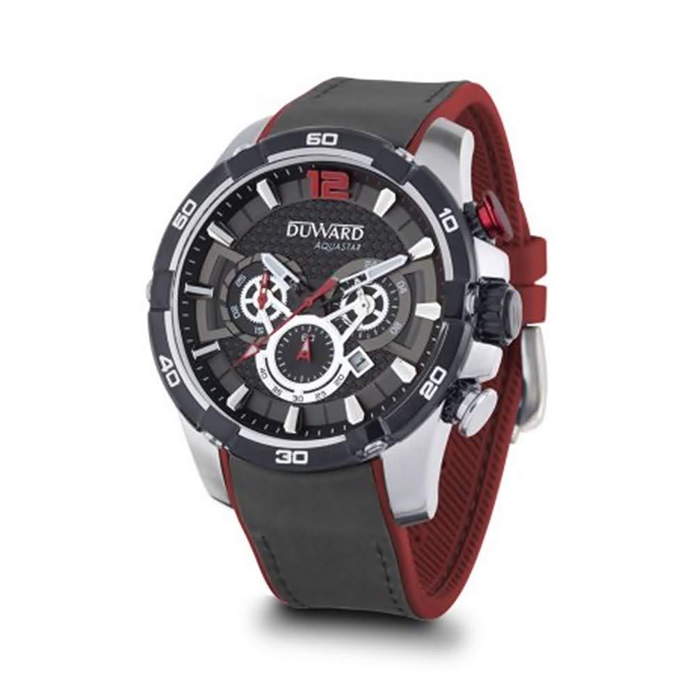 688319659319 DUWARD Reloj para Hombre Analógico Cuarzo con Correa de Piel sintética  D85533.02  Amazon.es  Relojes