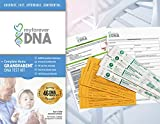 My Forever DNA - GRANDPARENT DNA Test Kit  Most Advanced & Accurate - 46 DNA (GENETIC) MARKER TEST  All Lab Fees Included