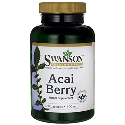 Acai Berry 500 MG (120 Caps)