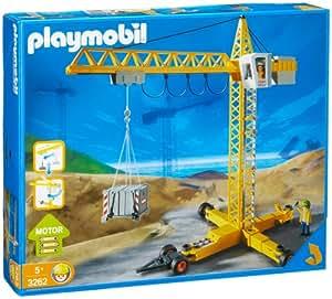 amazoncom playmobil crane toys amp games