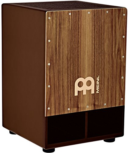 Meinl Percussion SUBCAJ5WN Jumbo Bass Subwoofer Cajon with Internal Snares, Walnut (VIDEO) Rear Projection Surface Video