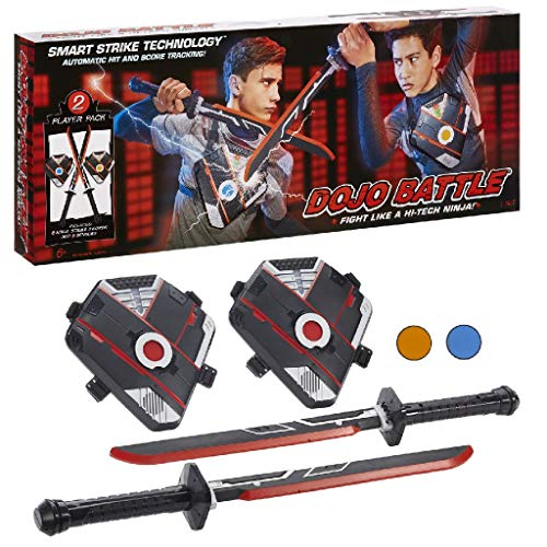 Dojo Battle Electronic Battling Game with Smart Strike Technology Swords and Chest Pieces, Multicolor