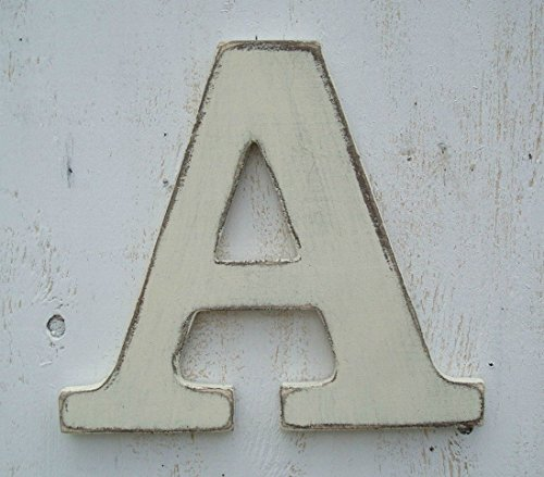 Painted wood letter pick your color