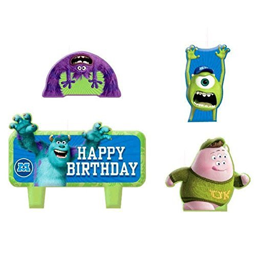 monsters inc birthday candle - 9