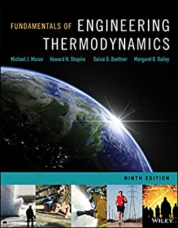 fundamentals  engineering thermodynamics  edition michael  moran howard  shapiro