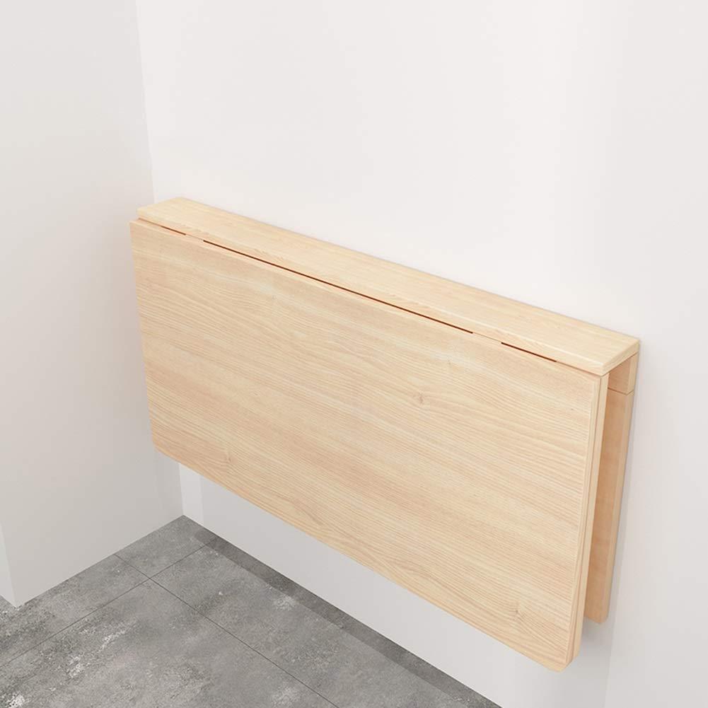 LXLA-mesa de pared abatible Mesa de Escritorio Plegable Mesa de Trabajo Estación de Trabajo Cocina Organizador de Comedor Niños Mesas de Estudio (Tamaño : 120times;40cm)