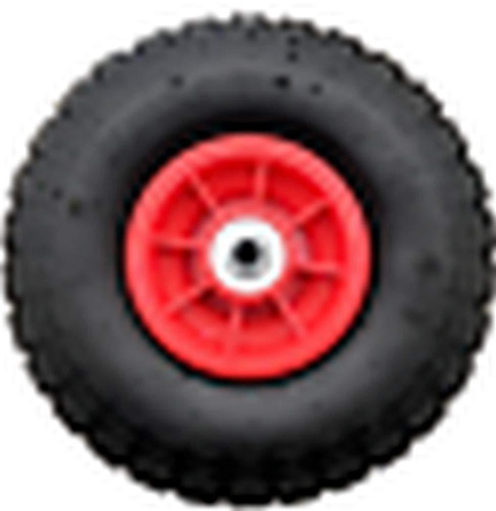 LY Tools 2 x 10 Pneumatic mit 12 mm Rollenlager Sackkarre Rad 4.10-4