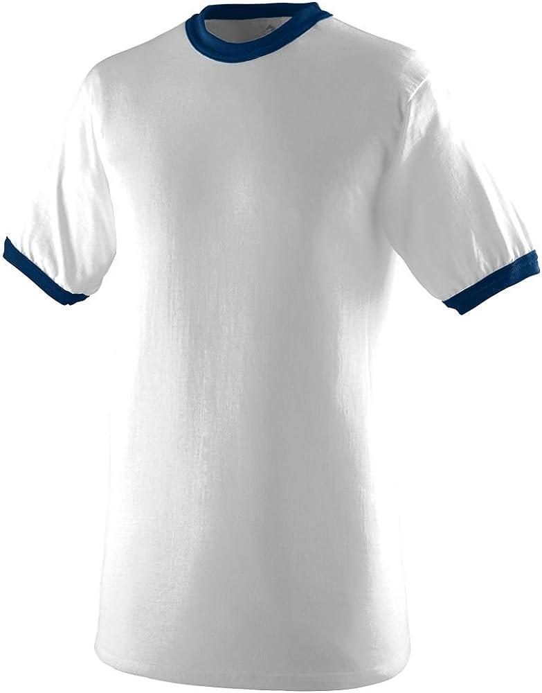 White//Navy Augusta Sportswear Boys Medium 711