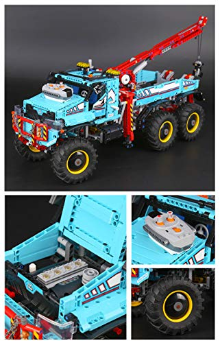 Constructor Lepin 20056 Technic Series The Ultimate All Terrain 6X6 Remote Control Truck Set Building Blocks Bricks Toys legoing 42070