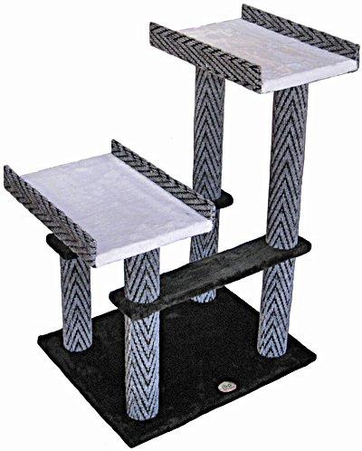 Go Pet Club 32″ Tall Black Cat Tree Furniture, My Pet Supplies