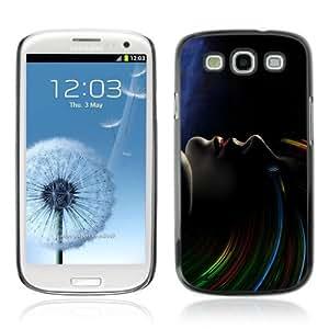 YOYOSHOP [Cool Abstract Sci Fi Woman] Samsung Galaxy S3 Case