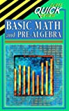 Basic Math and Pre-Algebra, Cliffs Notes Staff, 0822053047