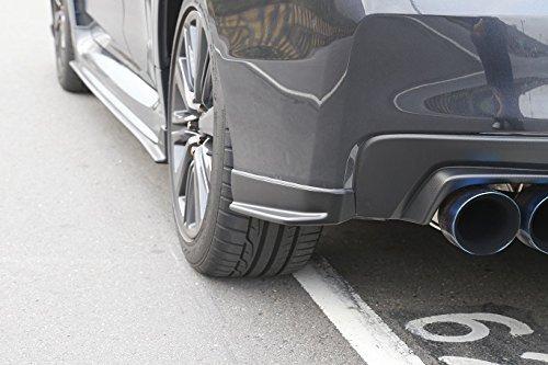Racingbees Subaru WRX STI ST Style Rear Lip Aprons Splitter ABS Unpainted 2015 2016 2017 2018