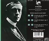 Image of Sergey Rachmaninov: String Quartet No. 1 & No. 2; Trio Elegiaque, Op. 9