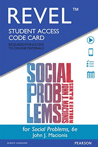REVEL for Social Problems -- Access Card (6th Edition)