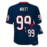 Justin James Watt Houston Texans Navy Blue NFL Toddler 2014-15 Season Mid-tier Jersey (Toddler 4T)