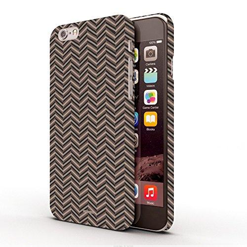 Koveru Back Cover Case for Apple iPhone 6 - Zig-Zag Choco