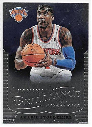 Amar'e Stoudemire 2012-13 NBA Panini Brilliance New York Knicks Card - Amare Nba Stoudemire