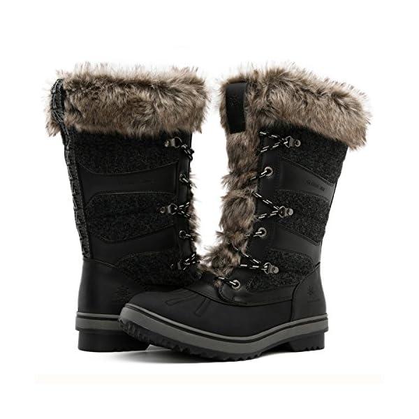 Global Win GLOBALWIN Women's 1730 Waterproof Winter Boots