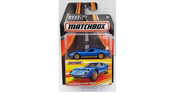 BEST OF MATCHBOX Edition Lamborghini Miura P400 S Blue Rubber Tires