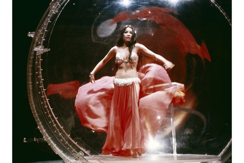 [Nai Bonet in The Spy with a Cold Nose sexy costume as Belly dancer 24x36 Poster] (Spies Costumes)