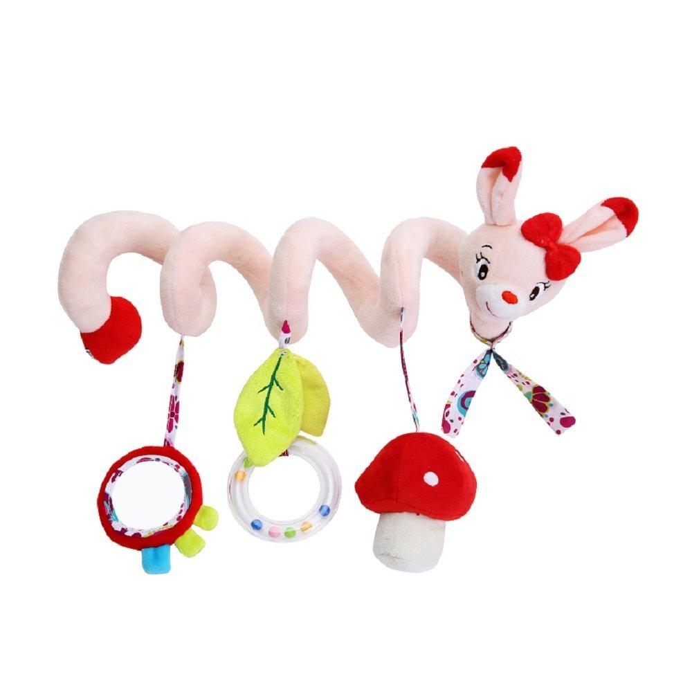 Iyhouse bébé Landau Poussette Lit Spirale d'activité à Suspendre Toys