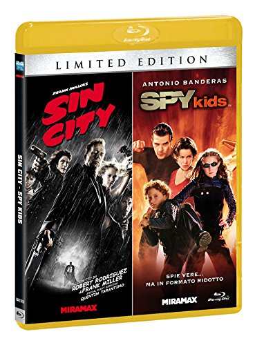 Sin City / Spy Kids Ltd 2 Blu-Ray Italia Blu-ray: Amazon.es: Jessica Alba, Antonio Banderas, George Clooney, Alan Cumming, Rosario Dawson, John Debney, Benicio Del Toro, Michael Clarke Duncan, Danny Elfman, Carla