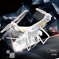 MiniEsting(TM) S70W 2.4GHz GPS FPV Drone Quadcopter with 1080P HD Camera Wifi Headless Mode New