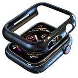 pzoz Compatible Apple Watch Series 4 Case 44mm Accessories...
