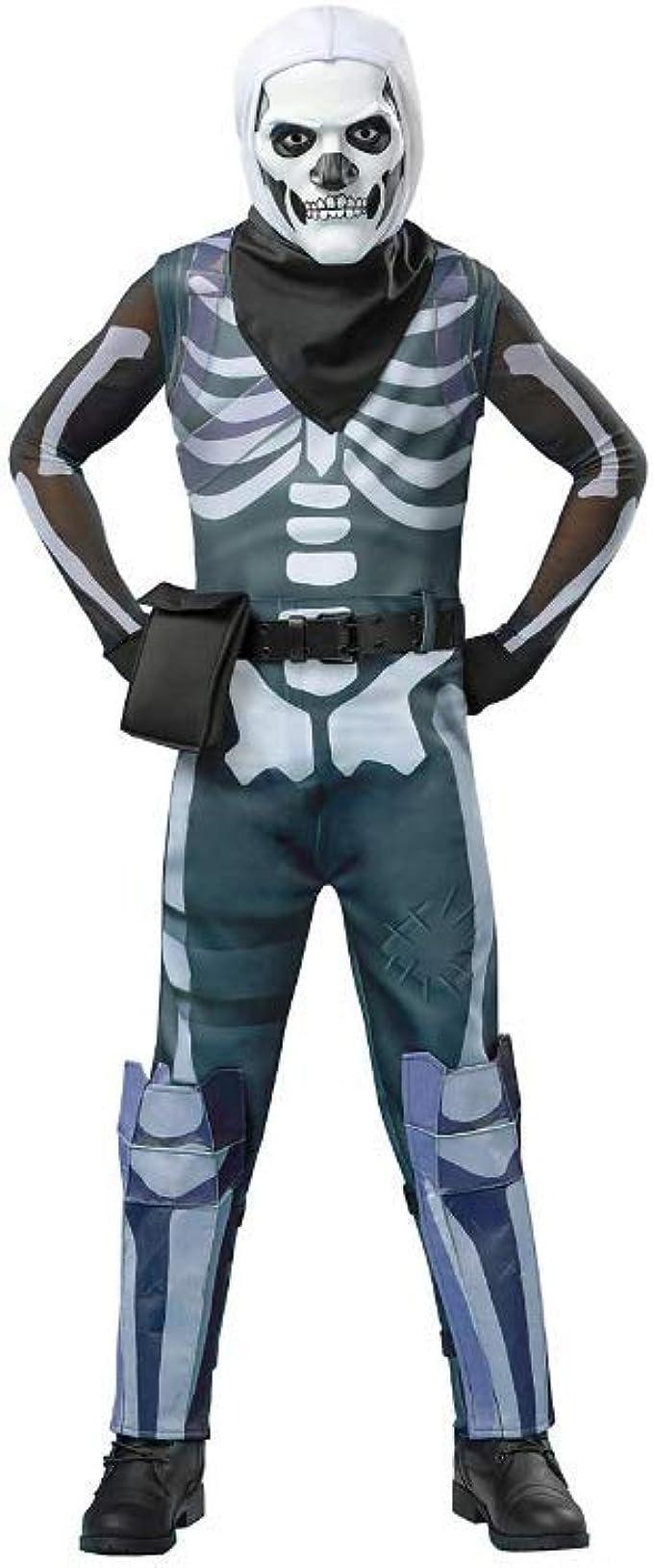 Amazon.com: Disfraz de calavera para niños de Halloween ...