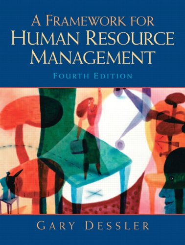 A Framework for Human Resource Management (Managing Human Resources In An International Business Dessler)