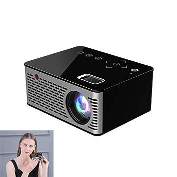 LQQZZZ Mini proyector HD, táctil Proyector portátil 1080P El LED ...