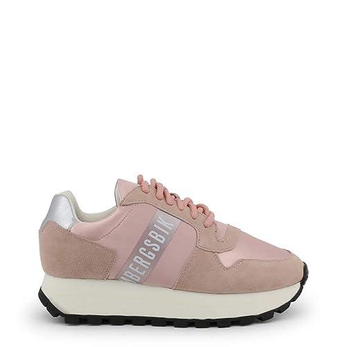 grande vendita ac04b 5cf10 Bikkembergs Scarpe Basse Sneakers Donna Rosa (Fend-ER_2087 ...