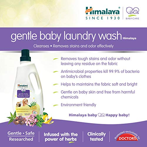 Himalaya Gentle Baby Laundry Wash 1 Ltr (Bottle)