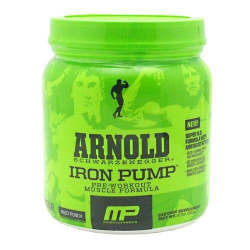 Arnold By Musclepharm Arnold By Musclepharm Iron Pump, Fruit Punch, 60 Servings by Arnold By Musclepharm