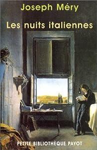 Les Nuits italiennes par Joseph Méry
