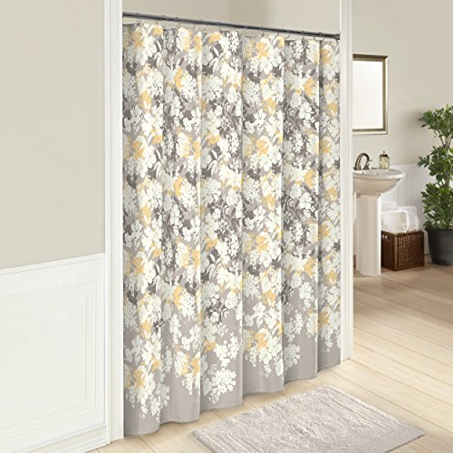 Hill Curtain Cotton (Marble Hill 16249SHWR072MUL Garden Party 72-Inch by 72-Inch Shower Curtain, Multi)