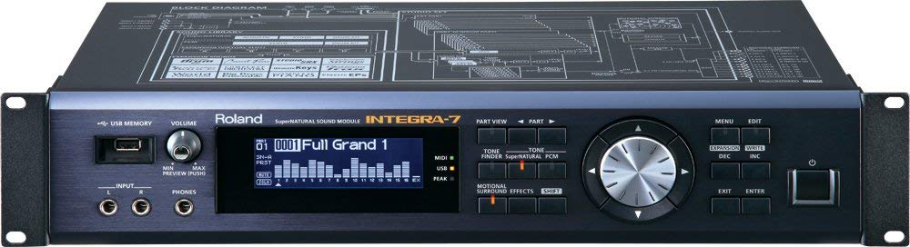 Roland INTEGRA-7 Tabletop Synthesizer with Microfiber and 1 Year EverythingMusic Extended Warranty by COR (Image #2)