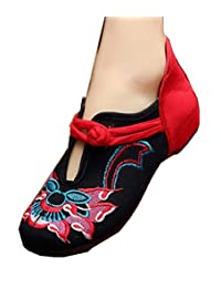 TIANRUI CROWN Women and ladies' The kirin Embroidery Casual Mary Jane Shoes Chinese cloth shoe